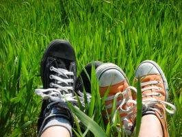 Sneakers in the grass sesion4 by m-l-o-d-a