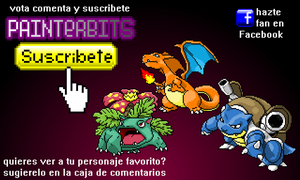 Pokemon por painterbits by PainterBits
