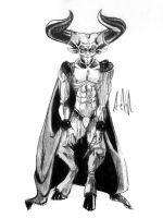 Tim Curry - A Study in Satan by aoi-iro