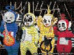 teletubbies tapestry of la-ch by redpixl
