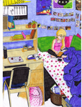 Helga's Dorm colored by nicolemtracy