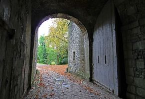 Namur Citadel's Entrance by Rea-the-squirrel