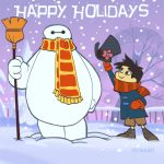big hero six christmas special by BrianKesinger