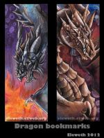 Bookmarks: Dragons by Eleweth