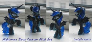 MLP: FIM Custom Nightmare Moon by LadyDraconic