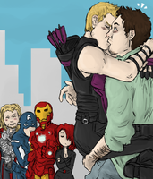 AVENGERS : relief by LadyNorthstar