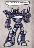 Soundwave SUPERIOR by Warhound-CMP