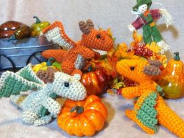 Pumpkin Patch Dragons by Alicia1018
