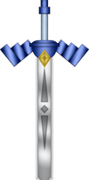 LOZ Battle Quest Sword by BLUEamnesiac