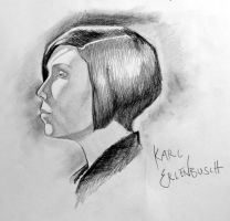 girl profile by erbusch