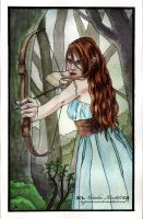 Elvish Archer by HypnoticRose