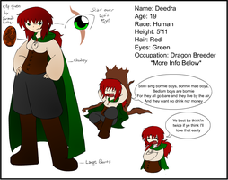 Deedra BR Ref. Sheet by NikiStix