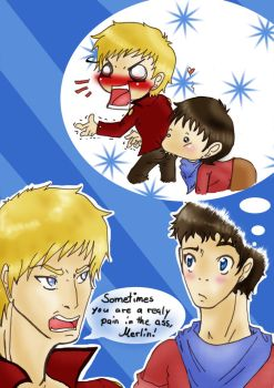 Pain in the ass - Merthur mind by Souffrances