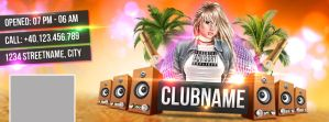 Club Facebook Cover by snkdesigns