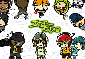 Jet Set Radio Set 1 by linkhero55