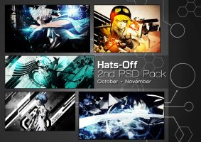 2nd PSD Pack [5k And 100+ Watchers] by HatsOff-Designs
