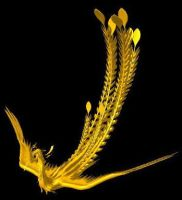 an incendia stl. file from a chinese phoenix by trymeandy