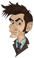 Tenth Doctor - David Tennant by 94cape69