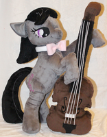 Octavia Plays Her Cello by AlexGoneLoco