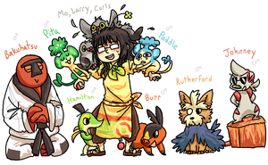 PKMN: BW Crew 1 by BearWithGlasses