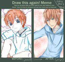Before - After Meme! REI by cookie-gear