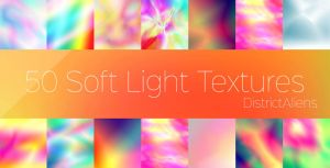 50 Soft Light Textures by DistrictAliens
