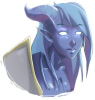 Draenei by Sheeters