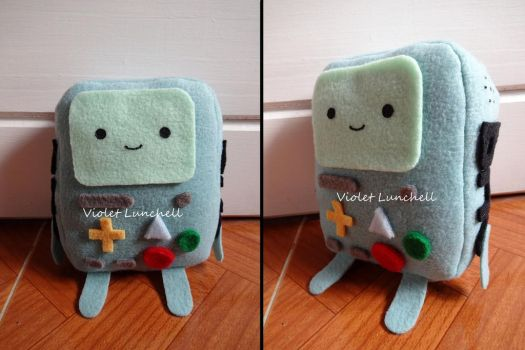 Adventure Time BMO plushie by VioletLunchell