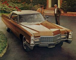 After the age of chrome and fins : 1968 Cadillac by Peterhoff3