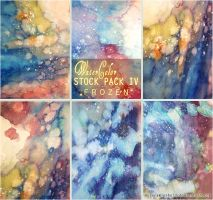 FROZEN - WATERCOLOR STOCK PACK IV by AuroraWienhold