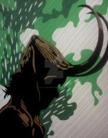 Loki Duct Tape Art by DuctTapeDesigns