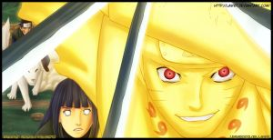 Naruto 558 - Naruto and Hinata by Law67
