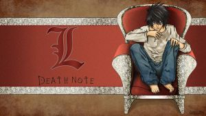 Death Note L Wallpaper by FromGoldMidas