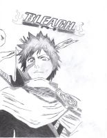 Bleach - Flying Ichigo by ryuugoukai