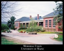 Memorial Union, UMO by Sh4d0w-W01f