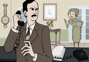 Basil Fawlty by ParaAbduction51