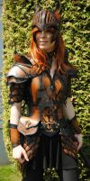Leather armor ''Valkyrie'' by Lagueuse