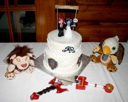 A Warcraft Wedding: The Cake by TallmanCreations