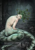 Medusa melancolica by without-control