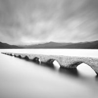 The forbidden bridge by grebille