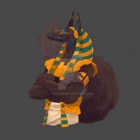 Anubis by Yeale