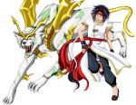 :BeyBlade: Driger and Ray by Inupii
