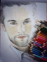 color pencil CHACE by doodlingsketch