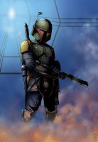 Boba Fett - Carbon Freeze by jpc-art