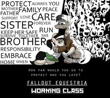 Fallout Equestria: Working Class (Cover) by DarcySupremest