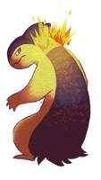 Typhlosion by Pip-naget