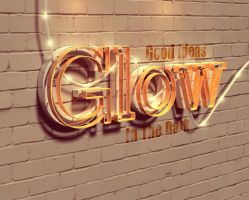 Glow by Textuts