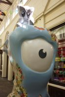 Fella at Covent Garden for London 2012 by ggeudraco