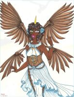 Unica Steampunk Wings ( color) by dracodawnstar