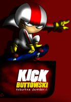 Kick Buttowski Poster by coilet